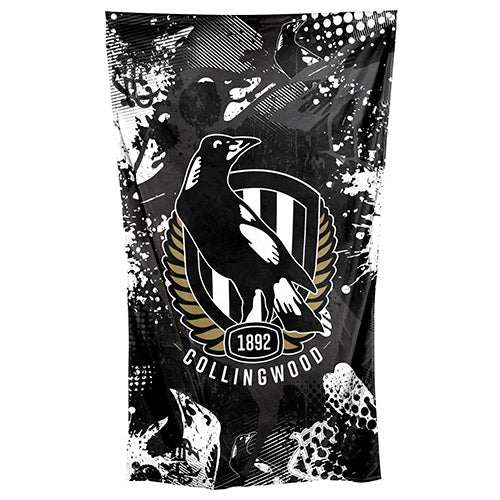 Collingwood Magpies Cape/Wall Flag