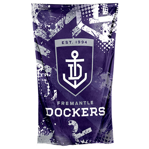 Fremantle Dockers Cape/Wall Flag