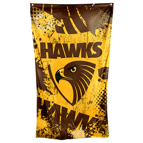 Hawthorn Hawks Cape/Wall Flag