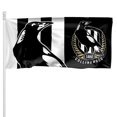 Collingwood Magpies Pole Flag