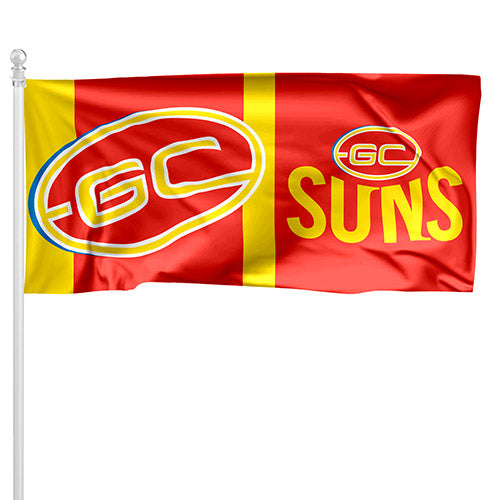 Gold Coast Suns Pole Flag