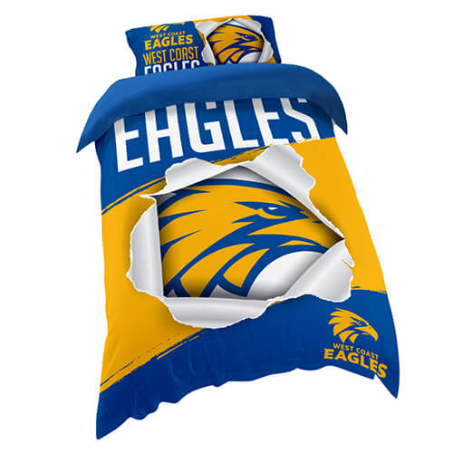 West Coast Eagles Quilt Cover
