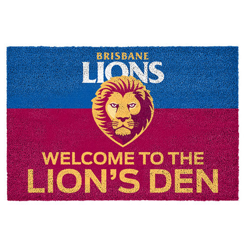 Brisbane Lions Door Mat