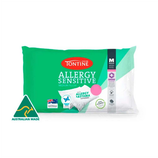 Tontine Anti-Allergy Medium Pillow