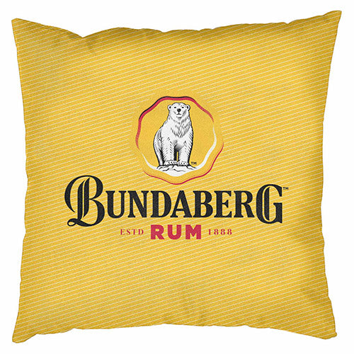 Bundaberg Rum Pinstripe Cushion