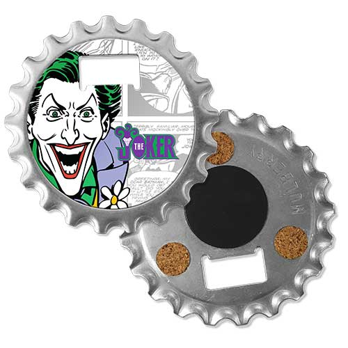 The Joker Bottle Opener/Coaster/Magnet