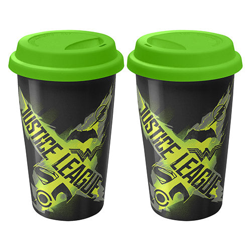 Justice League Logo Travel Mug