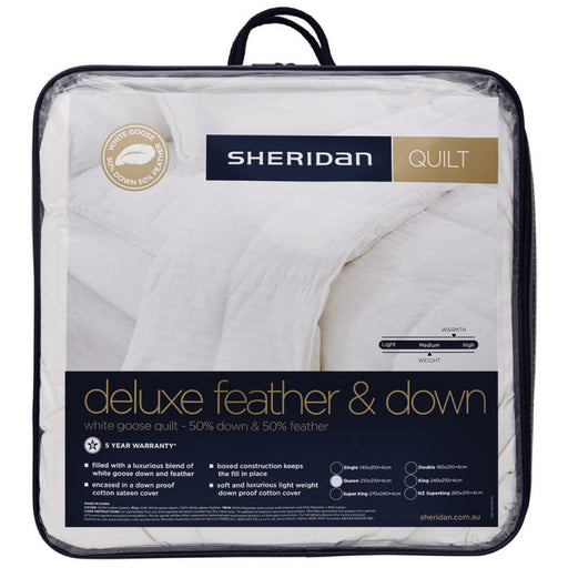 Sheridan Deluxe Feather & Down Quilt