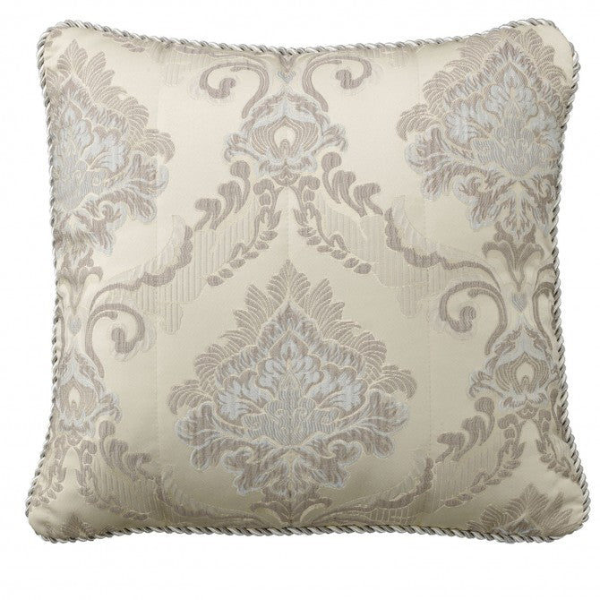 Dorset Square Cushion Taupe