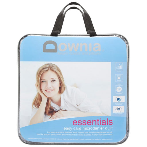 Downia Essentials Easy Care Microdenier Quilt