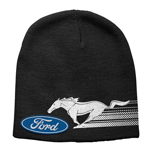 Ford Mustang Kids Logo Beanie