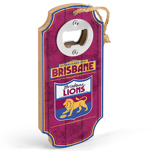 Brisbane Lions Heritage Bottle Opener
