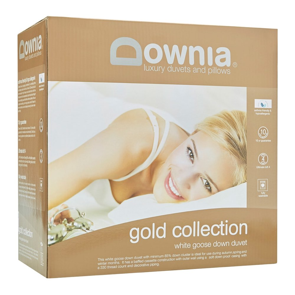 Downia Gold Collection White Goose Down Quilt