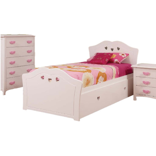Hearts Timber Bed