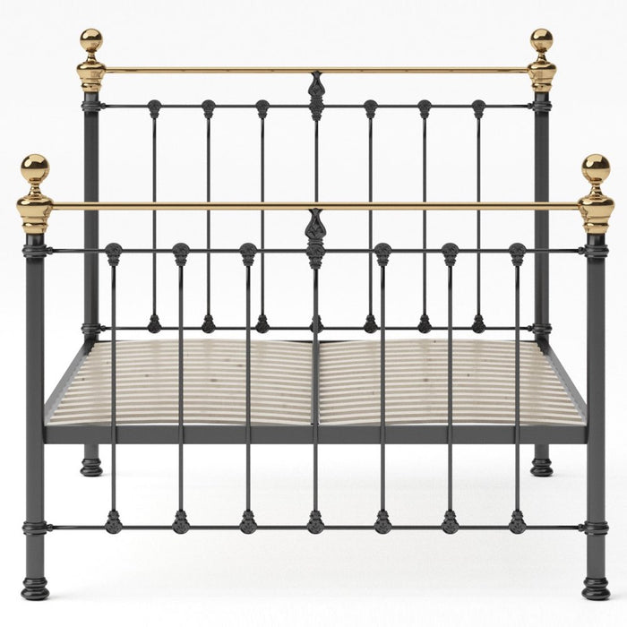 Hobart Cast Bed - Brass