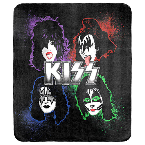 KISS Polar Fleece Throw