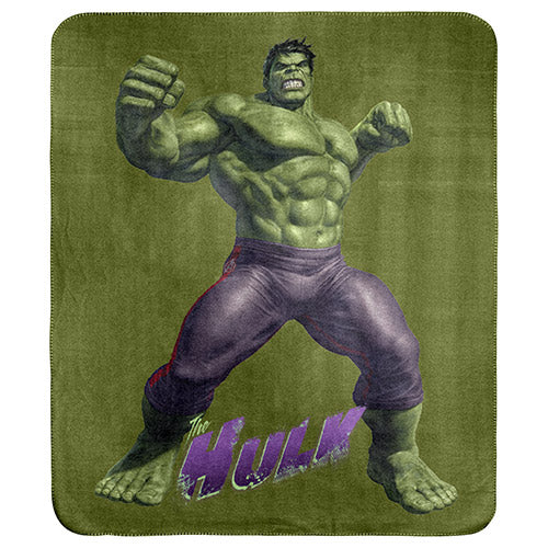 Hulk Polar Fleece Throw