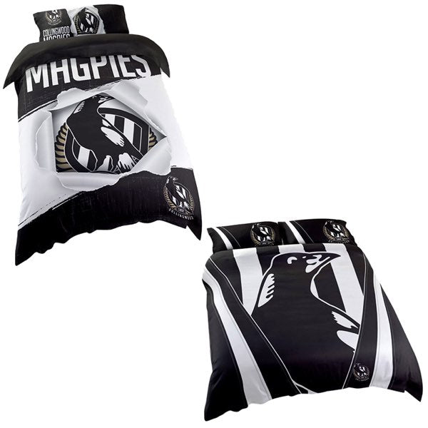 Collingwood Magpies Quilt Cover