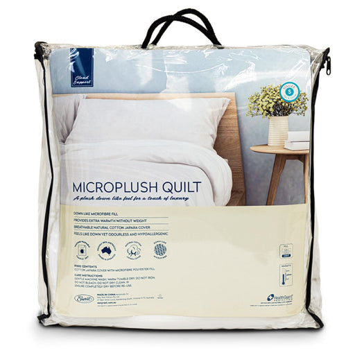 Easyrest Microplush Quilt