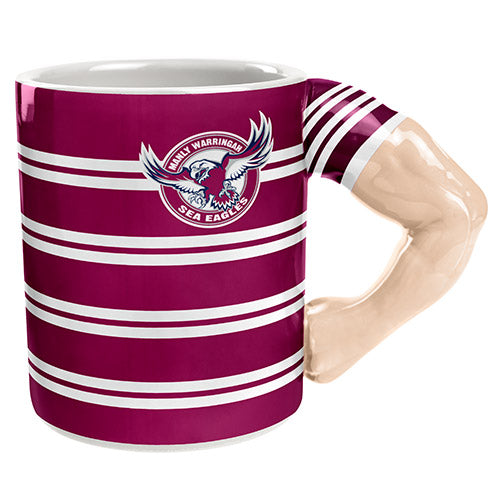 Manly Sea Eagles Moulded Muscle Mug