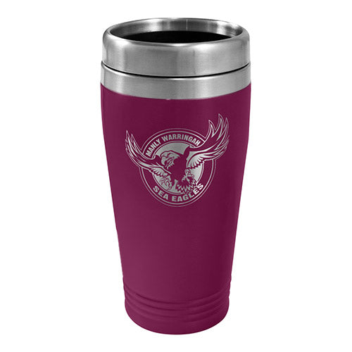 Manly Sea Eagles Stainless Steel Travel Mug