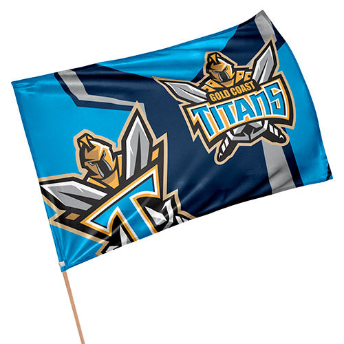 Gold Coast Titans Game Day Flag