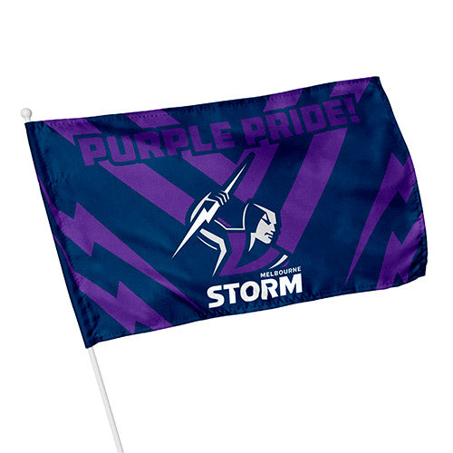 Melbourne Storm Kids Flag