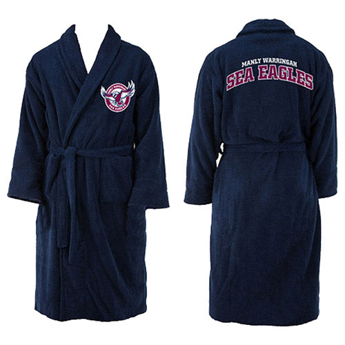 Manly Sea Eagles Youth Dressing Gown