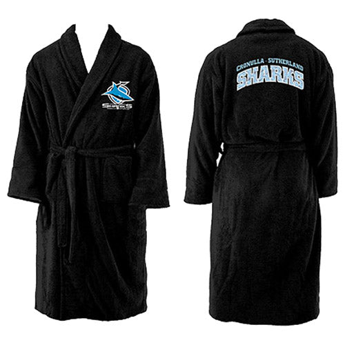 Cronulla Sharks Youth Dressing Gown