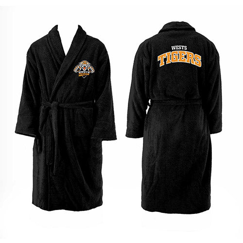 Wests Tigers Youth Dressing Gown