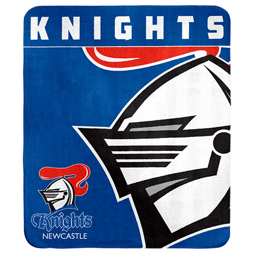 Newcastle Knights Polar Fleece Throw