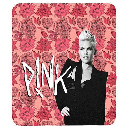 P!nk Polar Fleece Throw