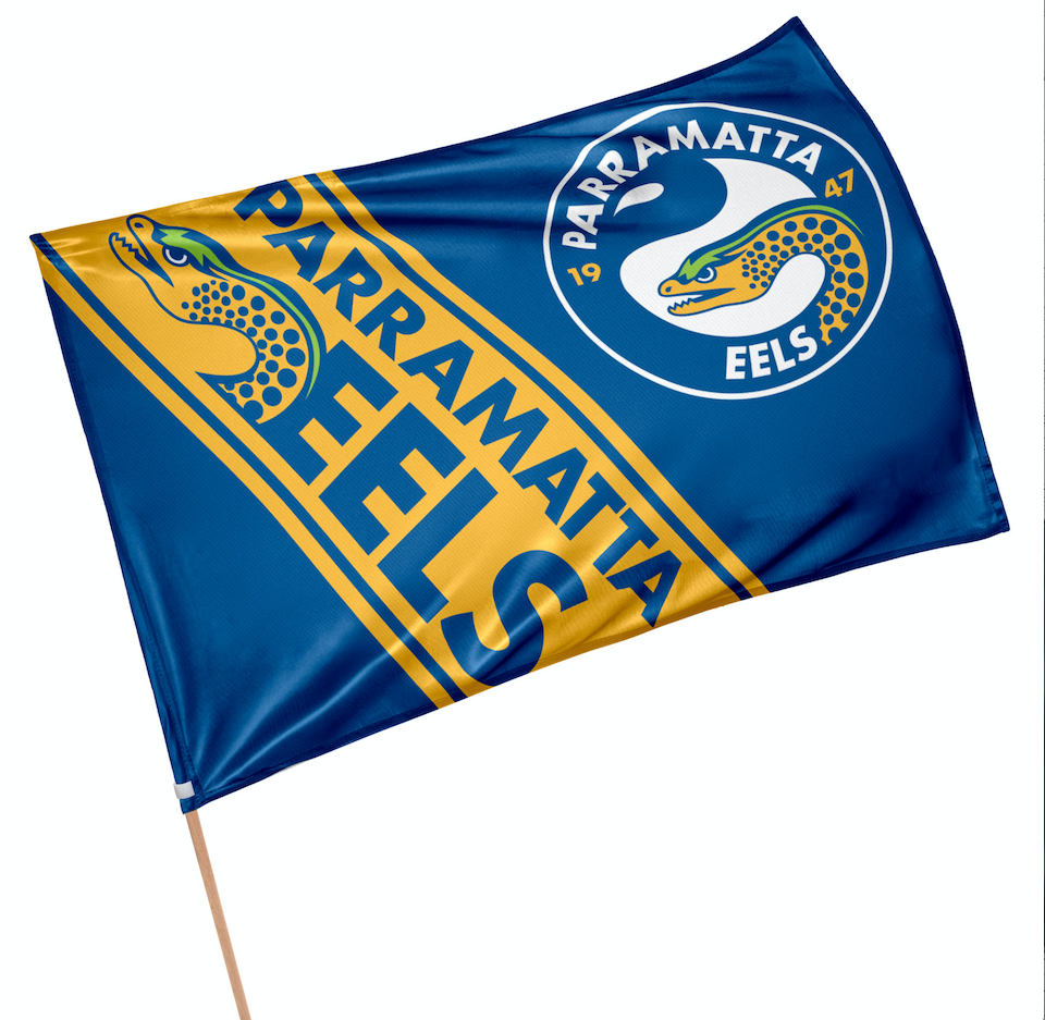 Parramatta Eels Game Day Flag
