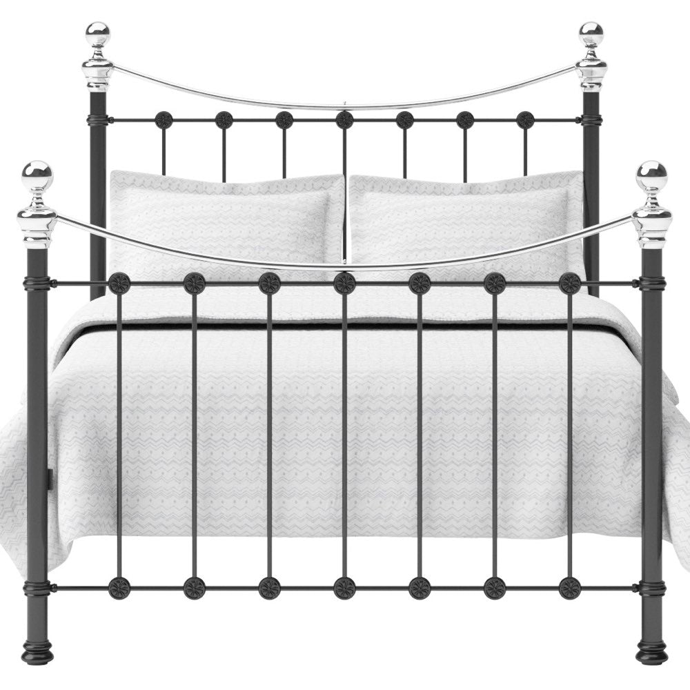 Selby Cast Bed - Chrome