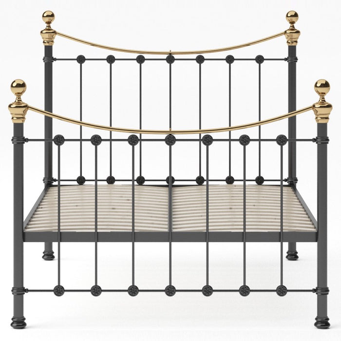 Selby Cast Bed - Brass