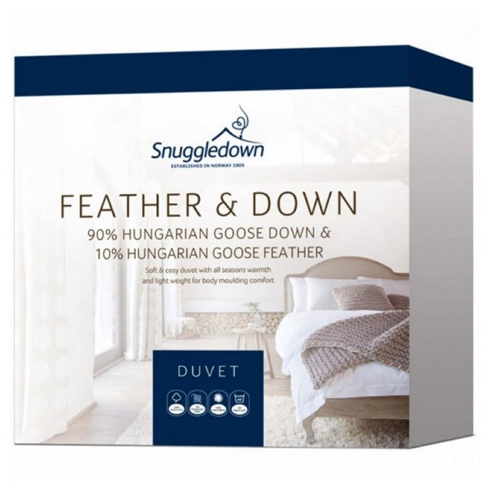 Snuggledown 90% Hungarian White Goose Down Quilt