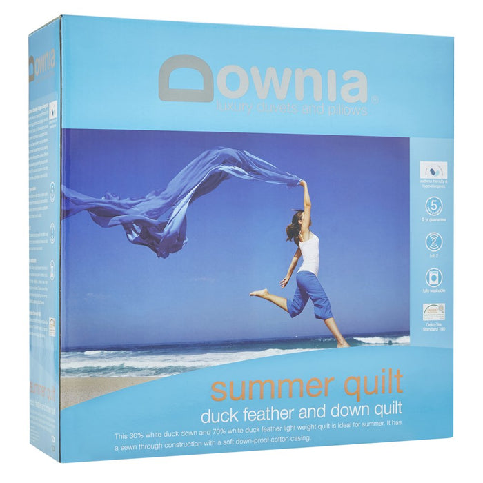 Downia Summer Collection Duck Feather & Down Quilt