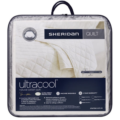 Sheridan Ultracool Cotton Quilt