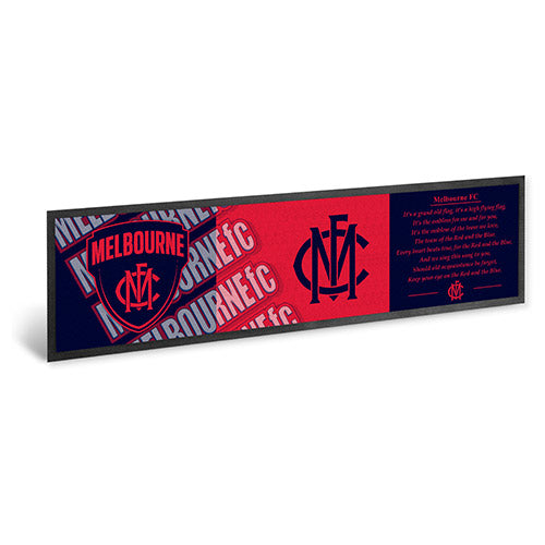Melbourne Demons Bar Runner