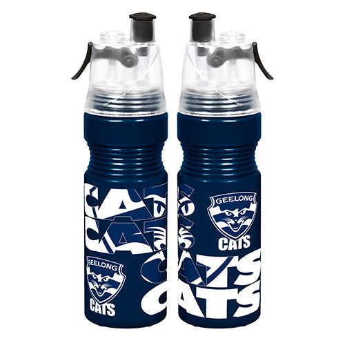 Geelong Cats Misting Drink Bottle