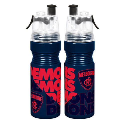 Melbourne Demons Misting Drink Bottle