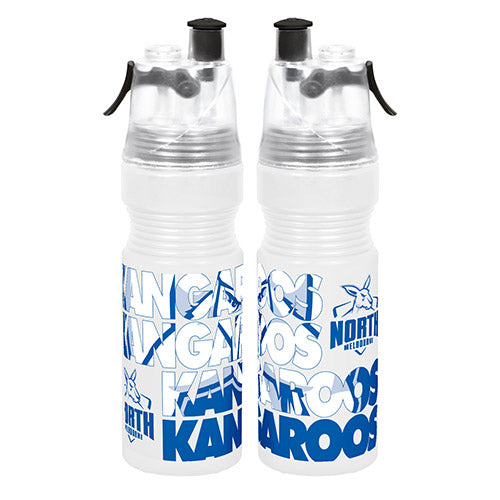 North Melbourne Kangaroos Misting Drink Bottle