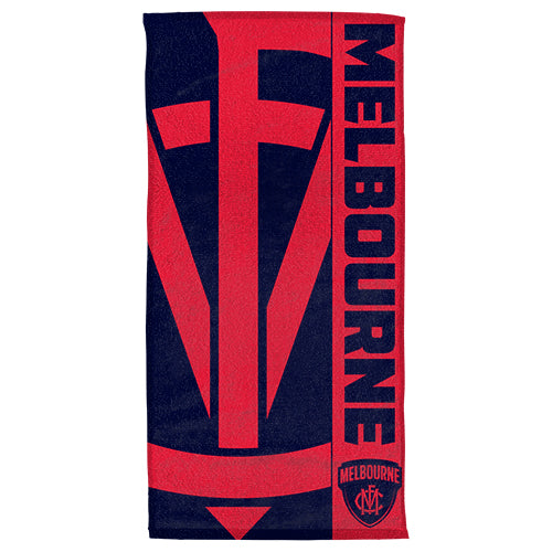 Melbourne Demons Beach Towel