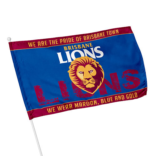 Brisbane Lions Kids Flag