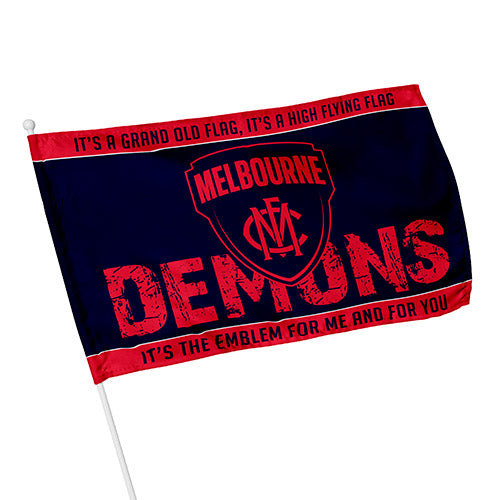 Melbourne Demons Kids Flag