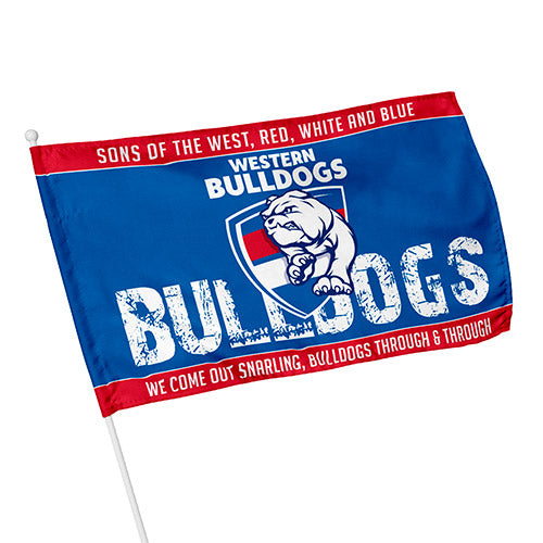 Western Bulldogs Kids Flag