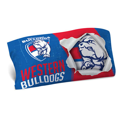 Western Bulldogs Pillowcase