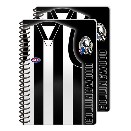 Collingwood Magpies Set Of 2 Notebooks