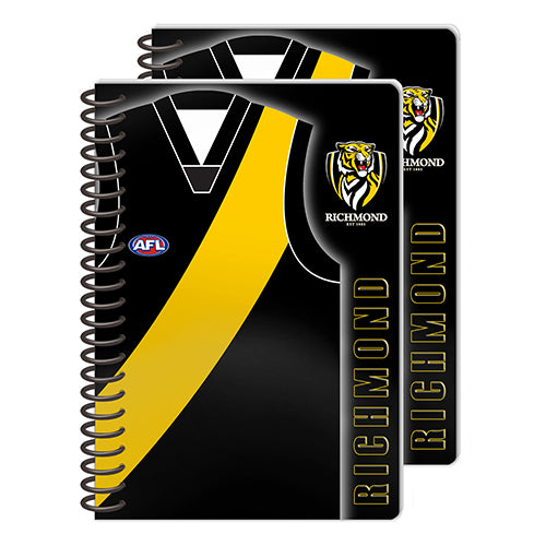 Richmond Tigers Set Of 2 Notebooks