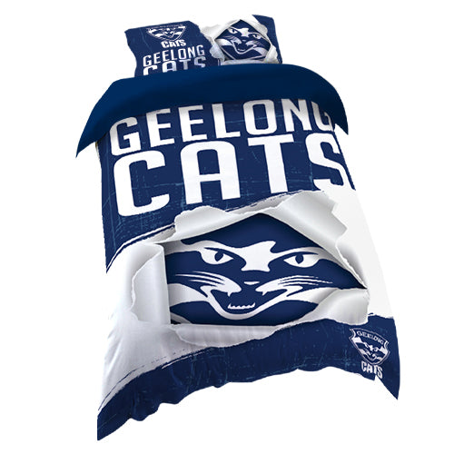 Geelong Cats Quilt Cover